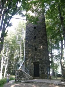 ...výhliadkova veža, Galya-tető, 964 m.n.m...