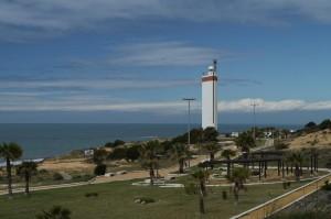 Maják a park Torre de la Higuera.