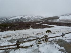 Pohorie Sierra Cabrera Baja nad Lago de Sanabria, sneží od 1700 m.n.m.
