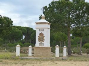 Asi bývalá dedina La Matilla.