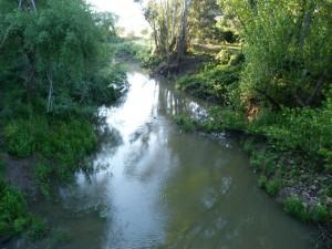 """Mŕtva"" rieka Rio Hazgarganta."