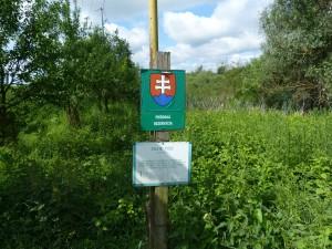 Prírodná rezervácia Dlhé Tice, Zatíne.
