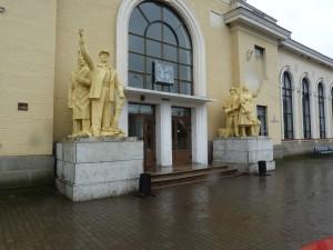 Vlaková stanica v Mukačeve.