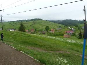 Zastávka skorona vrchole priesmyku, Oporec 800 mnm.