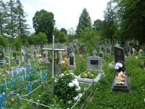 Tradičný cintorín v Uriži.