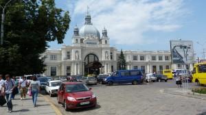 Vlaková stanica, Lvov.