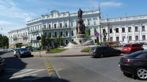 Námestie Kataríny Veľkej, Odesa.