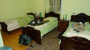 Vybavenie izby v hoteli Gora.