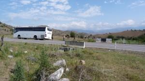 Posledná fotka Grúzie, fotené nad dedinou Vale, blízko hraníc s Tureckom.