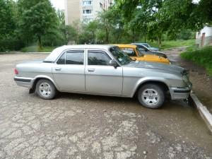 Limuzína Volga, ktorá sa k nám už nedovážala.