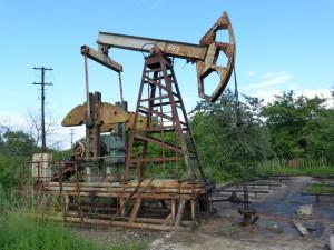 V okolí Boryslavi sa stále ťaží ropa.