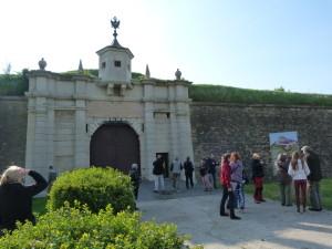 Vchod do Komárňanskej pevnosti.