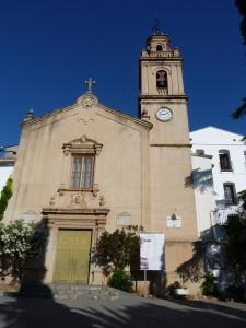 Kostol kláštora Monestir de Sancti - Spiritu u mestečka Gilet, 03.06.2015,09:08 hod.