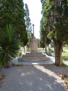 Nádvorie kláštora Monestir de Sancti - Spiritu u mestečka Gilet, 03.06.2015,09:08 hod.
