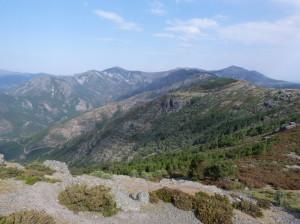 Hrebeň Sierra de la Peňa de Francia, 07.06.2015, 10:22 hod.