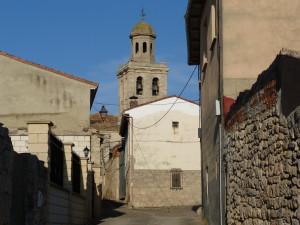 Ulica v dedine Olmillos de Sasamón, 20:11 hod.