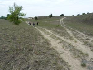 Fülöpháza - pieskové duny a okolie.