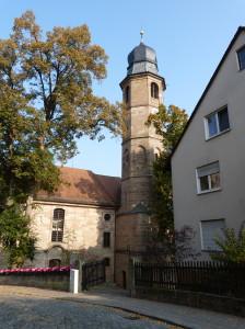 Kostol na ulici Burgstras.