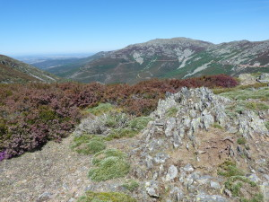 Sierra de la Peňa de Francia, hrebeň s najvyšším vrcholom La Hastiala, 1735 m.n.m., 28.05.2019, 11:16 hod.