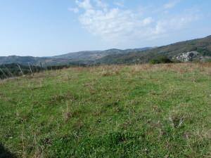 Pohľad na západ od Floresty - Parco dei Nebrodi.