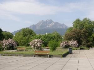 Pohorie Pilatus nad Luzernom, výletne miesto domácich.