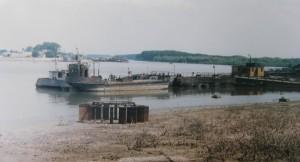 ....pohľad na Dunaj a kompu v Braile, 03.06.1997...