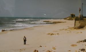 Atlantik, Apúlia, miesto kúpania v Atlantiku. Pohľad na sever.