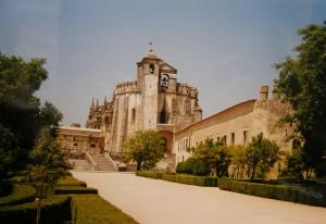 Tomar, hrad s kostolom.
