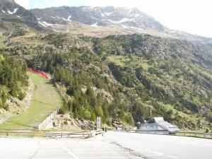 Prvá zastávka - lyžiarské stredisko Arcalis.
